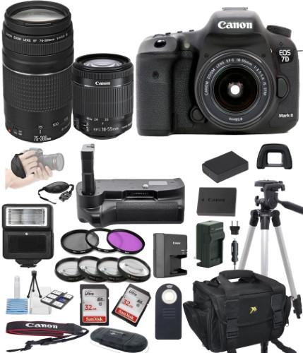 https://www.ebay.com/sch/i.html?_nkw=Canon+Eos+7D+Mark+Ii+Digital+Slr+Camera+W+Ef+S+18+55Mm+75+300Mm+Telephoto+Zoom+Lens+Bundle+Includes+Camera+Lenses+Filters+Bag+Memory+Cards+Power+Grip+Tripod+And+More&_sacat=0&_dmd=2