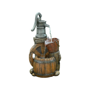 http://www.ebay.com/i/Alpine-Corporation-Old-Fashion-Pump-Barrel-Fountain-Multi-Color-/272841541897