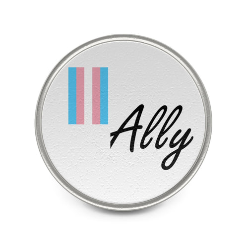 LifeGasm *Ally* Metal Pin