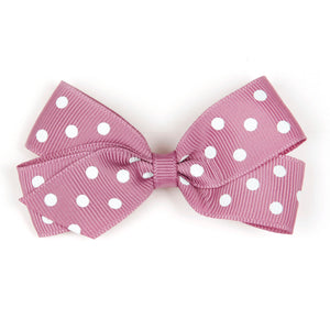 medium_rosy_mauve_pola_dot_hair_clip