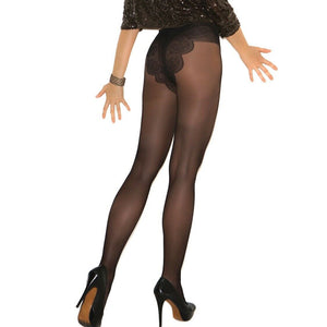 EM1715 Elegant Moments French Cut Support Pantyhose