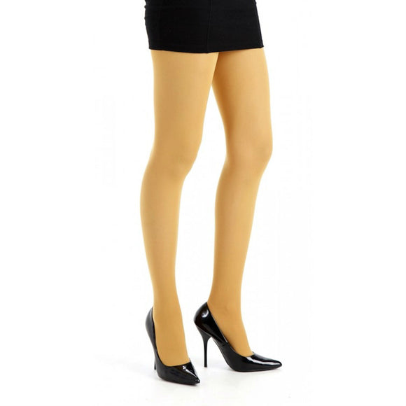 PM503 Pamela Mann 50 Denier Colour Opaque Tights Mustard