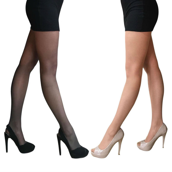 EL127 Essexee Legs 15D Light Leg-Support Tights