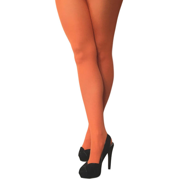 JA600 Jonathan Aston 40D Colour Opaque Tights Orange
