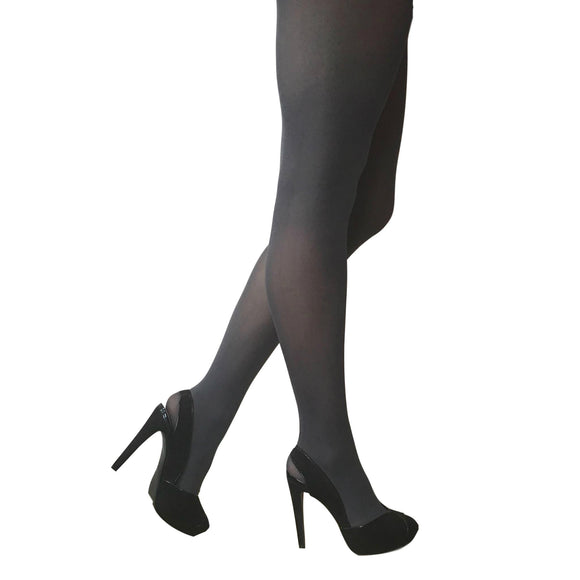 JA600 Jonathan Aston 40D Colour Opaque Tights Storm