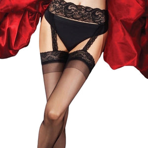 CHA828 Charnos Boudoir Suspender Stockings