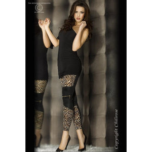 Chilirose Leopard Print Leggings