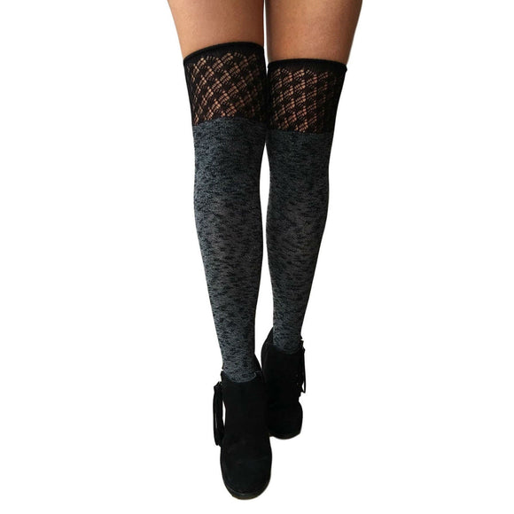 OKS161 Jonathan Aston Cotton Knee Socks