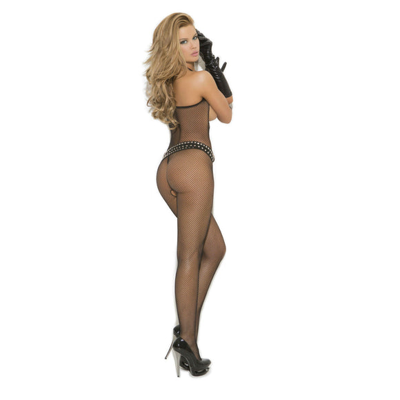 BODY026 Elegant Moments Net Open Bust Bodystocking