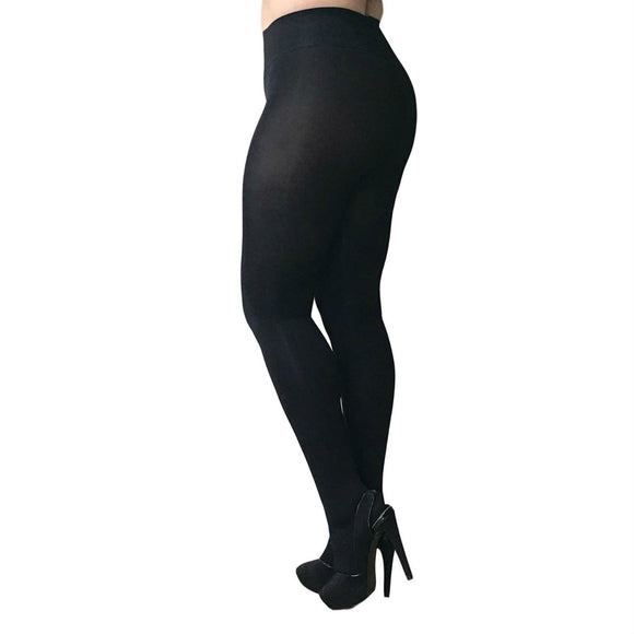 EL810 Essexee Legs 80D Opaque Comfort Tights Plus Size