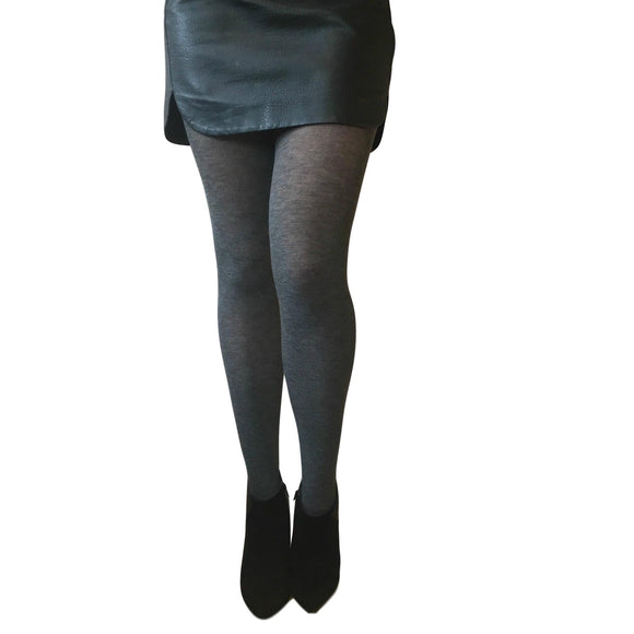 EL636 Essexee Legs Grey Soft Acrylic Tights
