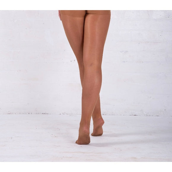 EL31 Essexee Legs Sheer Gloss Tights Bronze Glow 2 Pair Pack