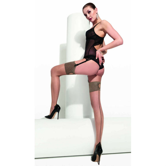 TRAS064 Trasparenze Lewis Seamed Stockings