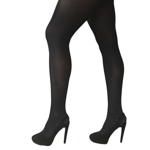 JA600 Jonathan Aston 40D Opaque Tights Black