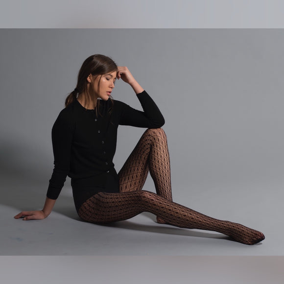 JA448 Jonathan Aston Geo-Net Tights