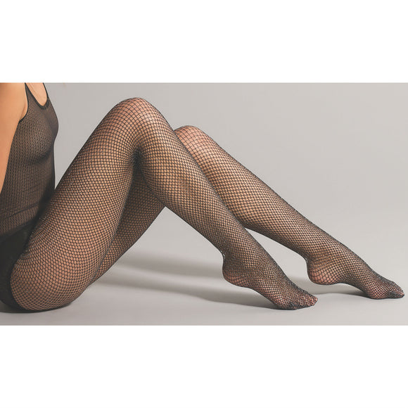 JA491 Jonathan Aston Glitter Net Tights