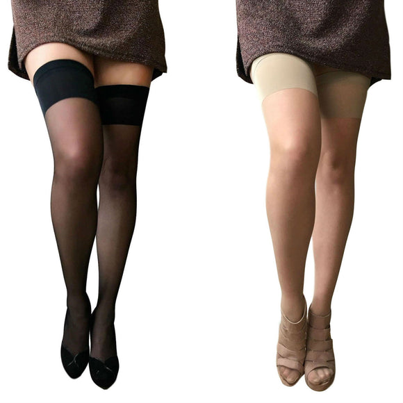 LEV698 Levante Smoothline Hold-Up Stockings