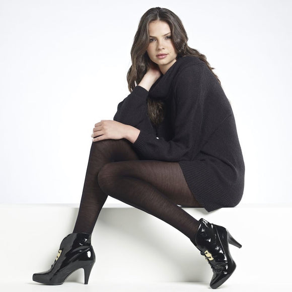 WW613 Levante 100D Plain Wool Tights