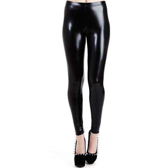 LEGG1029 Pamela Mann Wet Look Leggings