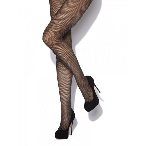 CHA800 Charnos Lurex Fishnet Tights