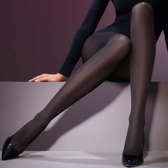 LEV697 Levante 60 Denier Satin Opaque Tights