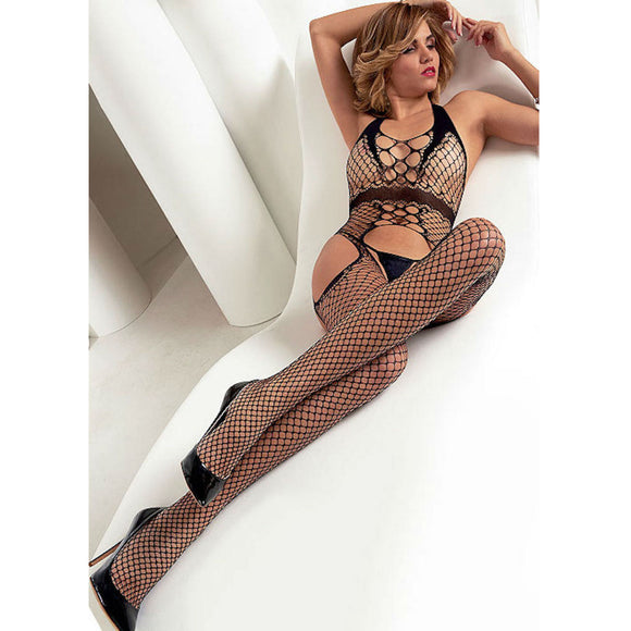 BODY040 Trasparenze Carter Net Bodystocking