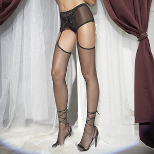 TRAS023 Trasparenze Zoia Micro-net Stockings