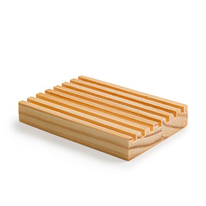 Natural Wood Soap Deck- Solid Grooves