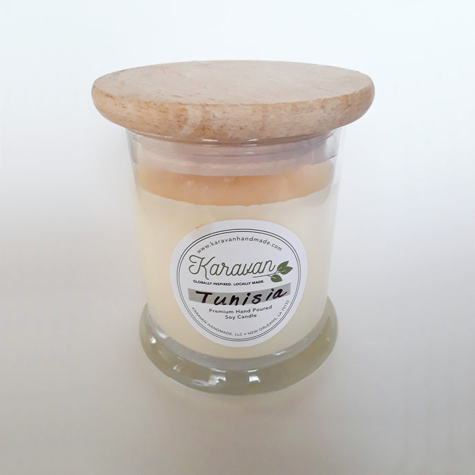 Tunisia candle