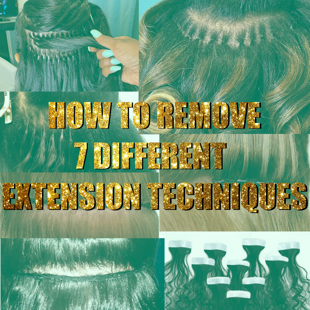 How to : Remove 7 Different Extension Techniques