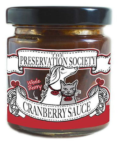 Preservation Society Cranberry Sauce - 4.4oz
