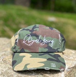 Signature Logo Distressed Cap