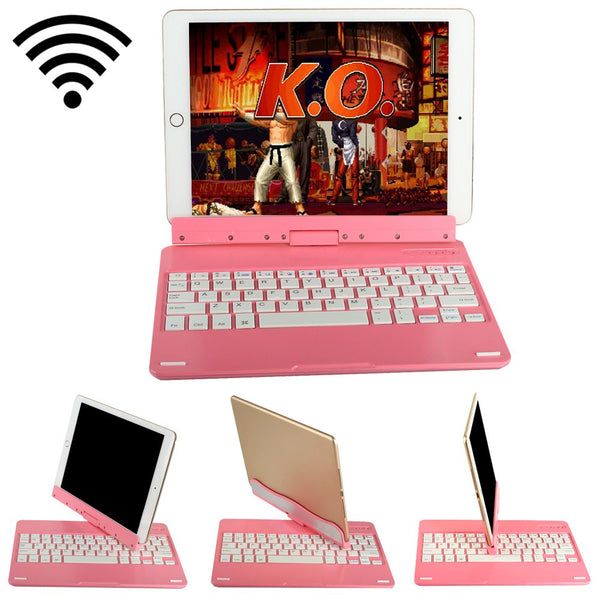 360 Degree Rotatable Wireless Bluetooth Keyboard + Display Stand for Apple iPad Air 2