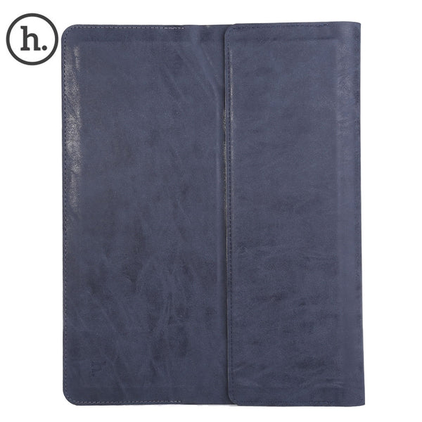 HOCO 13 Inch Universal Leather Pad Protective Punch Bag Cover with Holder for iPad Pro / Air / Air 2