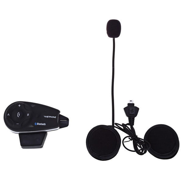 Vnetphone V5 1200M Bluetooth Motorcycle Helmet Interphone