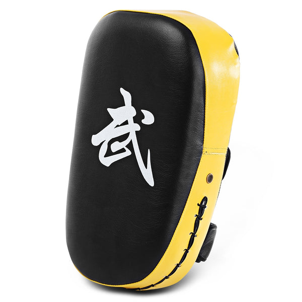 Square Boxing Pad Punching Bag Karate Sparring Thai Training Foot Target Gear