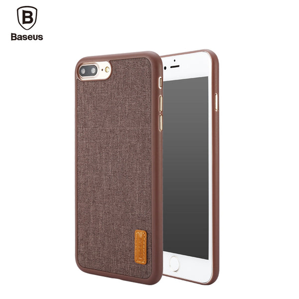 Baseus Grain Series 5.5 inch Protective Dustproof Mobile Phone Back Case Cover for iPhone 7 Plus