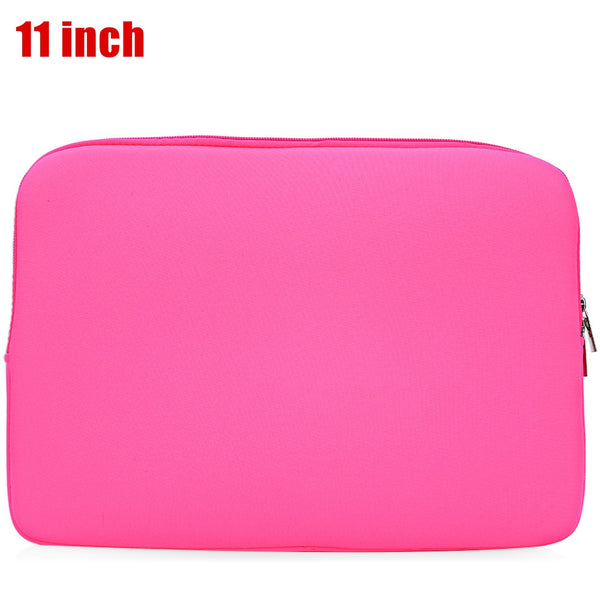 Korean Style Universal Foam Zipper Soft Sleeve Laptop Bag Cover for MacBook Air Pro Retina