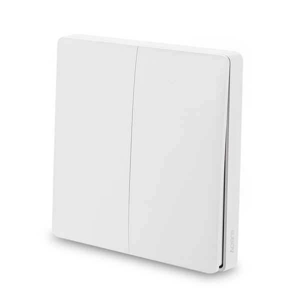Aqara WXKG02LM Smart Light Switch Wireless Version Double Key ( Xiaomi Ecosystem Product )