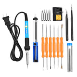 Inlife 60W 220V Electronic Soldering Iron Kit with Sponge Stand