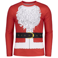 Santa Clause Christmas Costume T-shirt