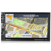 Rectangle 7021G 7 inch Car MP5 Player Bluetooth FM Radio GPS with Built-in Map