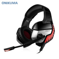 ONIKUMA K5 Pro Stereo Gaming Headset Over-ear Headphones with MIC LED Light for Xbox One / PS4 / PC