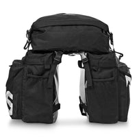 Roswheel Bicycle Rear Pannier Bag 37L Water Resistant Durable Pack Luggage Carrier