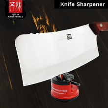 Load image into Gallery viewer, Original Qi Lin Knife Sharpener (Red/Blue)