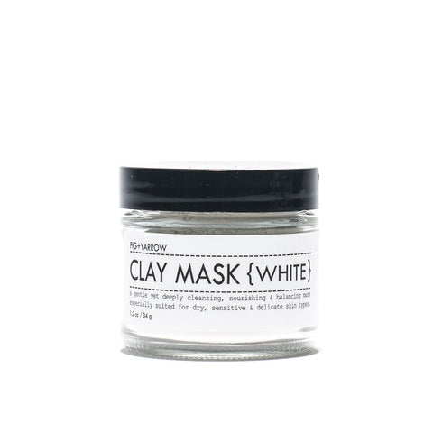 Fig and Yarrow - White Clay Mask