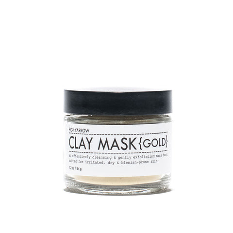 Fig and Yarrow - Gold Clay Mask