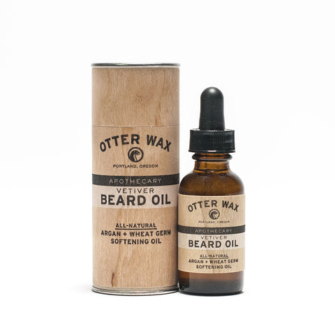 Otter Wax - Vetiver Beard Oil