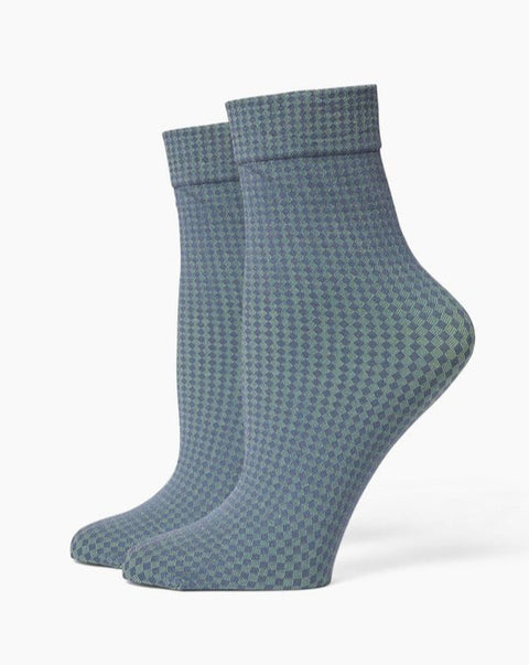 Richer Poorer - Women's Quilted Ankle Socks