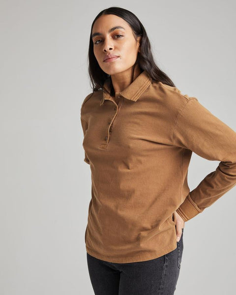 Richer Poorer - Relaxed LS Polo